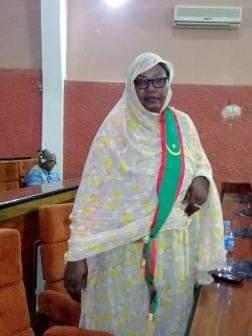 رئيسة الفريق البرلماني للصداقة الموريتانية الأمريكية، النائب/ لالة بنت امبارك